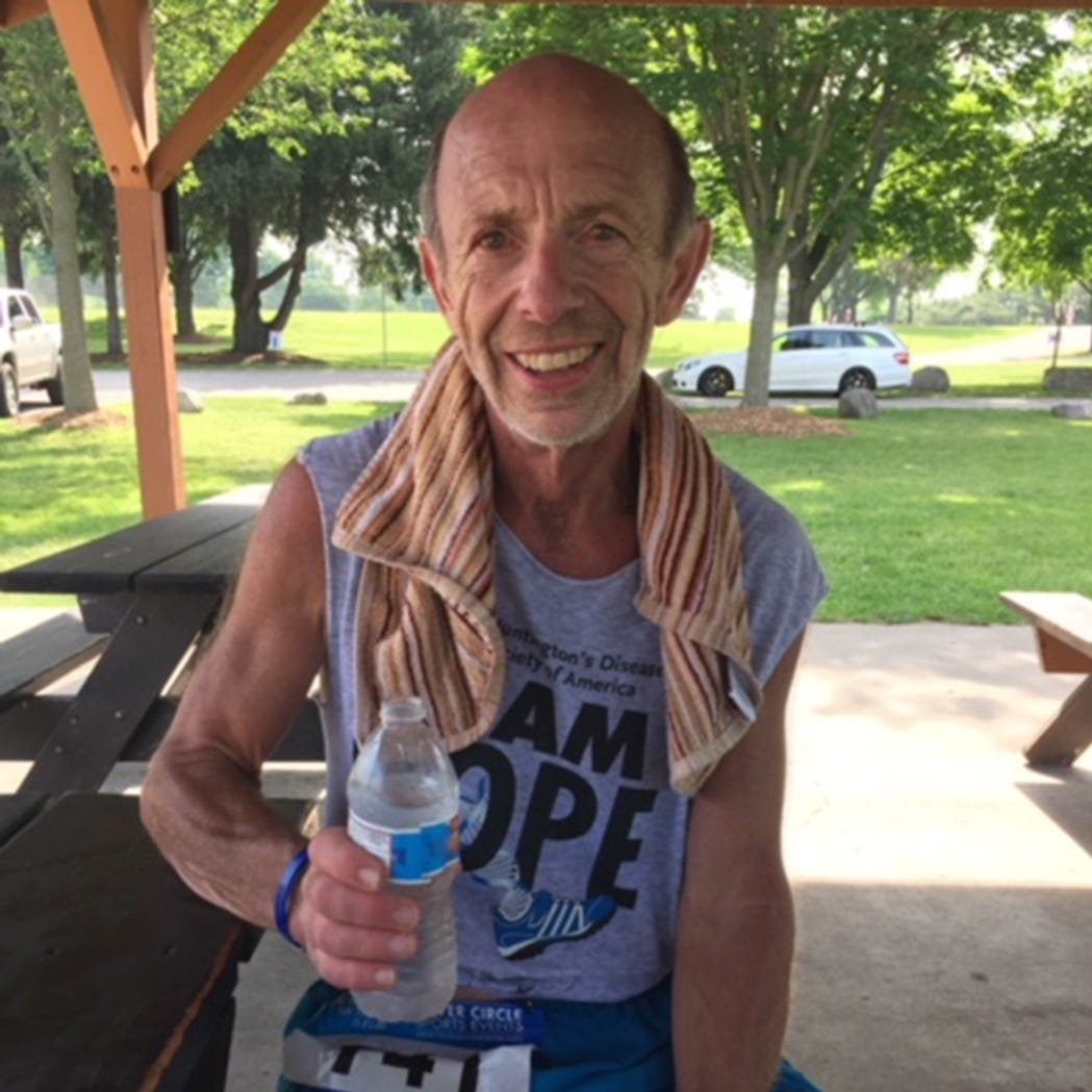 Stingl: At 70, competitive runner stays one step ahead of the disease afflicting his family