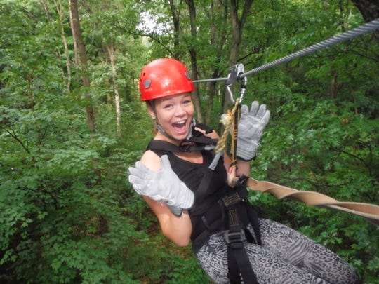 Partnerships with Lake Geneva businesses mean you can get a package from Timber Ridge Lodge that includes things like ziplining.