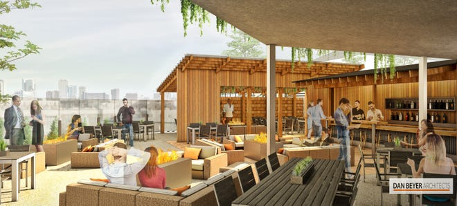The Backyard, the newly expanded lower patio at View MKE in Brewers Hill, will have lounge furniture, fire pits and its own bar, in addition to tables for dining. It's set to debut Aug. 30.