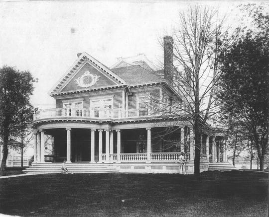 The home at 307 N. Lake Road in Oconomowoc was built in 1895.