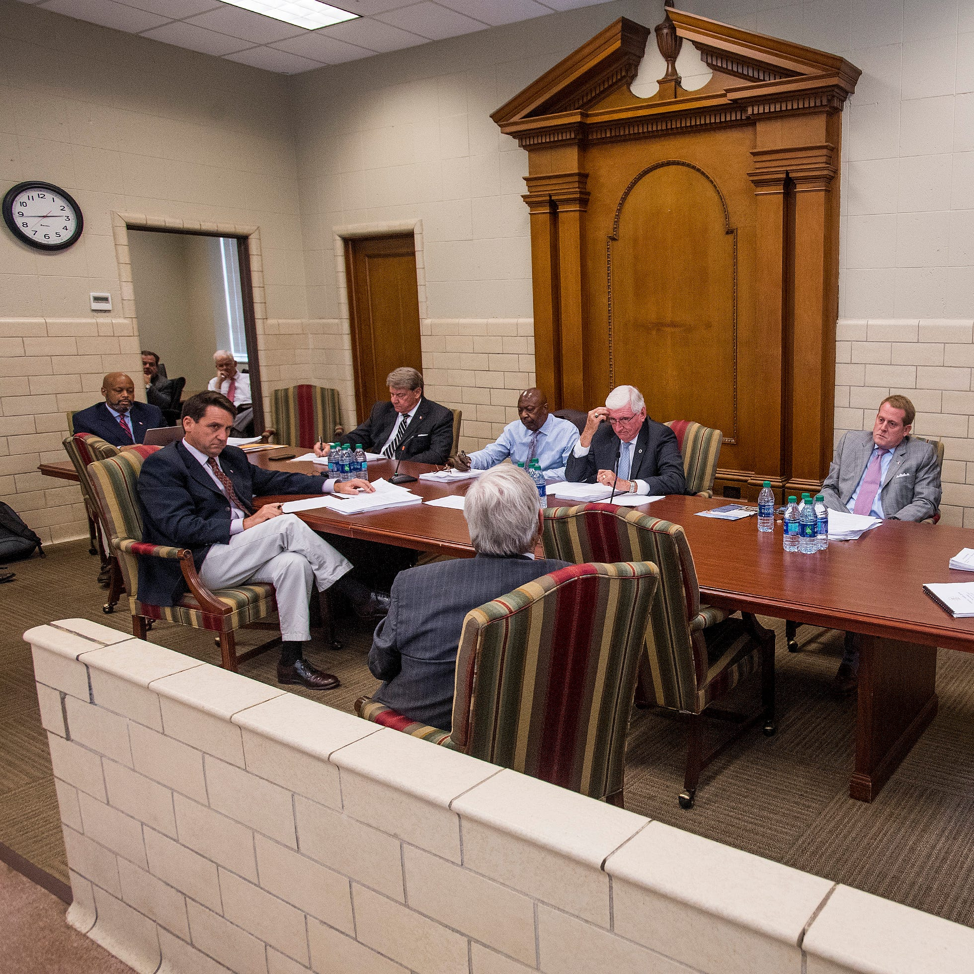 The Montgomery City Council work session at city hall in Montgomery, Ala. on Monday August 21, 2018.