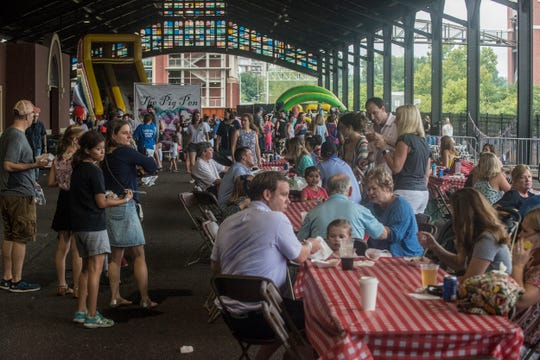 Hog Days of Summer returned for its second year at the Union Station Train Shed in Montgomery on Saturday, Aug. 18, 2018.