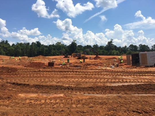The Alabama Department of Public Health is building its Bureau of Clinical Laboratories in Prattville.
