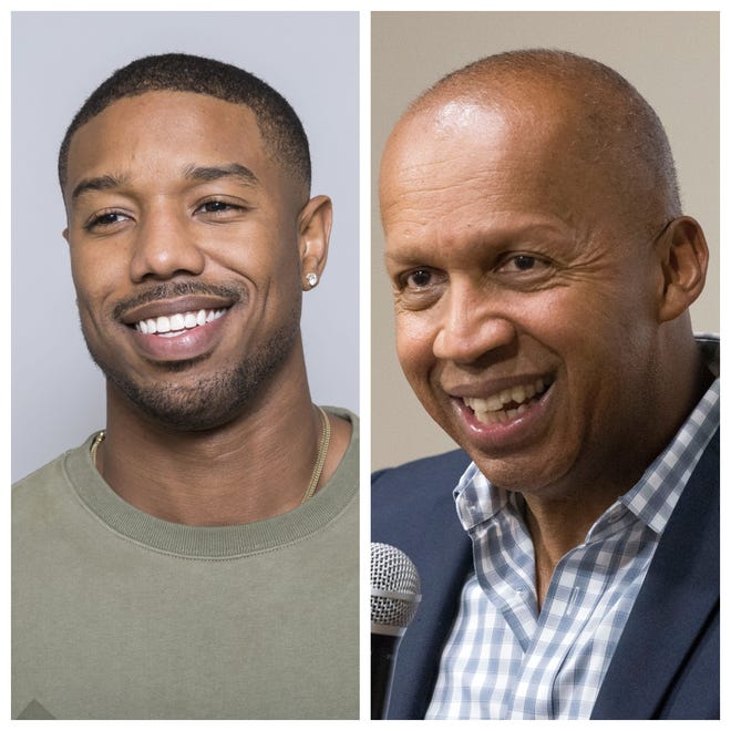 """Just Mercy"" stars Jamie Foxx and Michael B. Jordan. It tells the story of Bryan Stevenson with EJI and his work to free Walter MacMillian from prison."