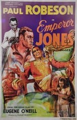 A 1933 Paul Robeson movie poster featuring Emperor Jones will be in the National Museum of African American Music 