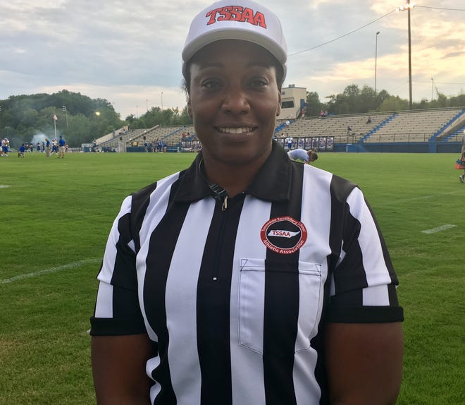 Artenzia Young-Seigler is the TSSAA's first African-American female referee.