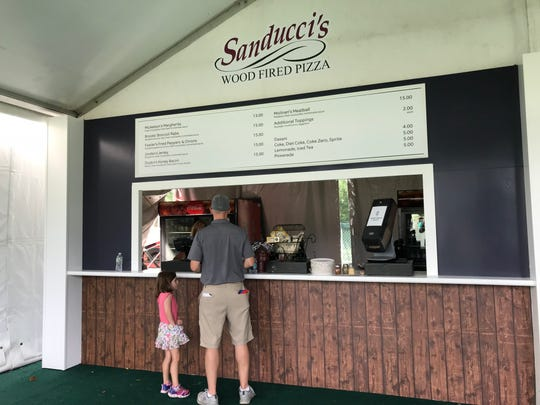 Sanducci's has a stand at The Northern Trust.