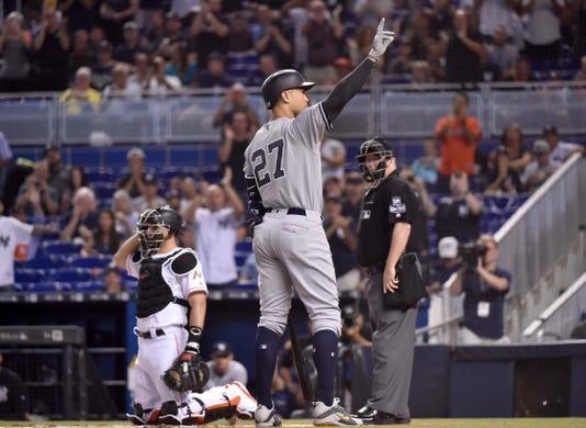 Mlb New York Yankees At Miami Marlins