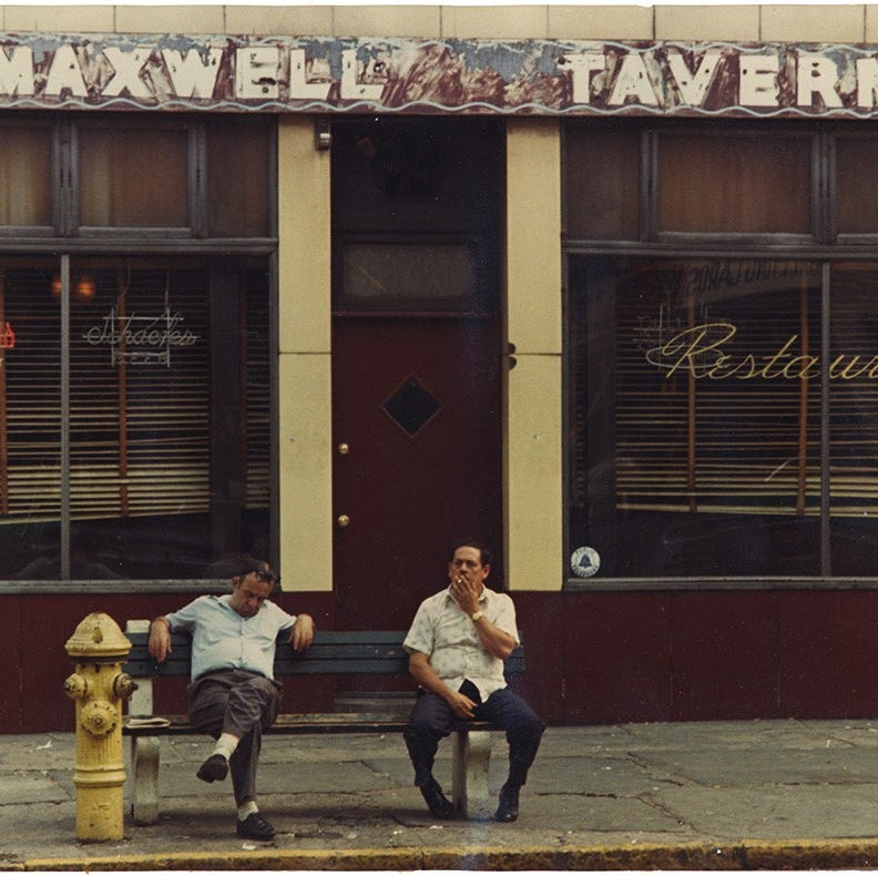 1978: Maxwell's, Hoboken and the Hudson's left bank