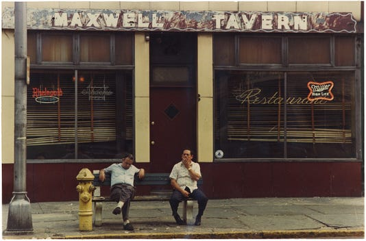 Maxwell's tavern circa 1974