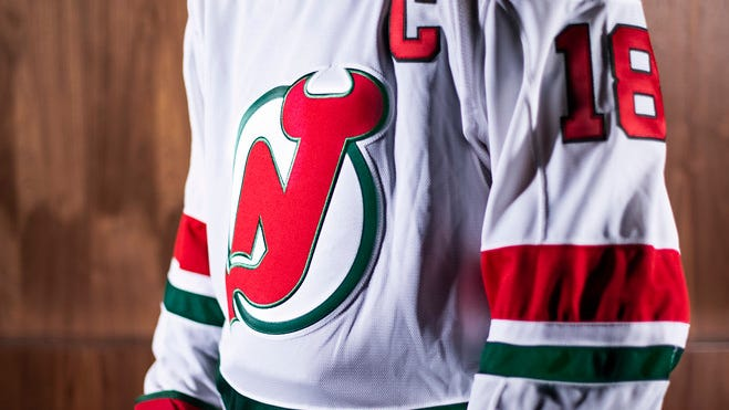 The Devils heritage jersey for 2018-19 season.