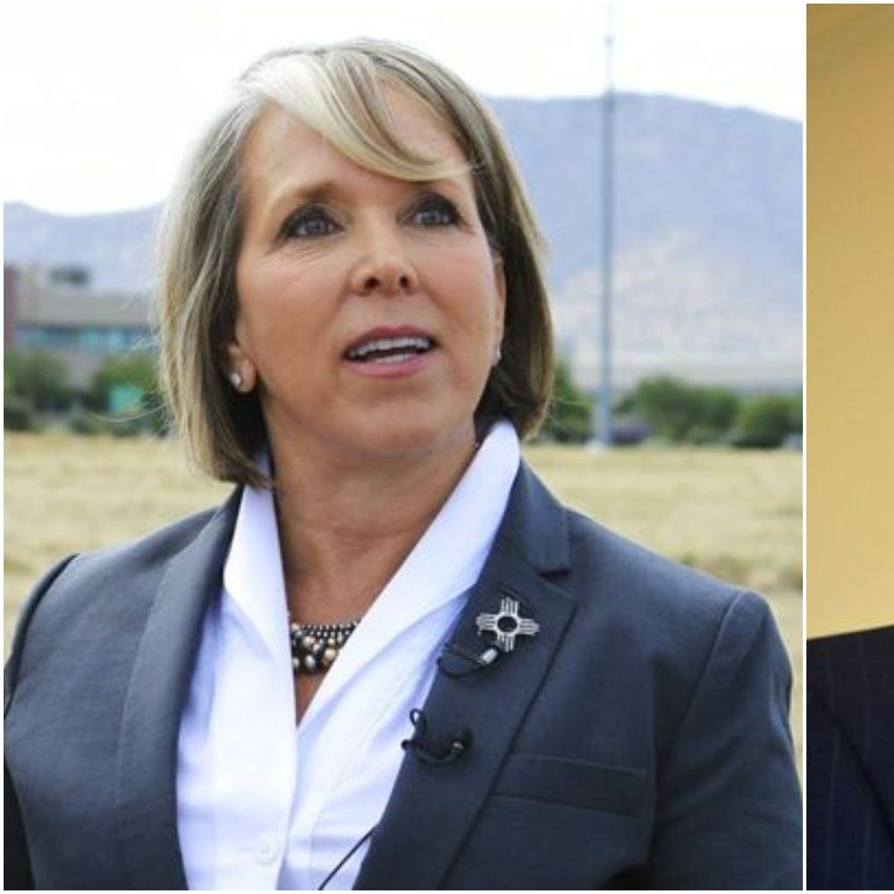 Michelle Lujan Grisham, Steve Pearce vie for NM governor's seat