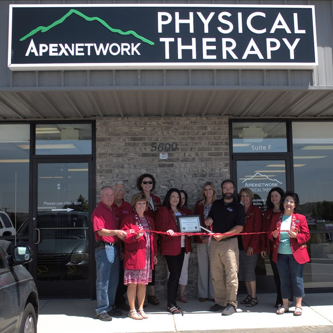 On Aug. 6 there was a ribbon cutting at Apexnetwork Physical Therapy , 5600 Mickey Dr., Ste. F.
