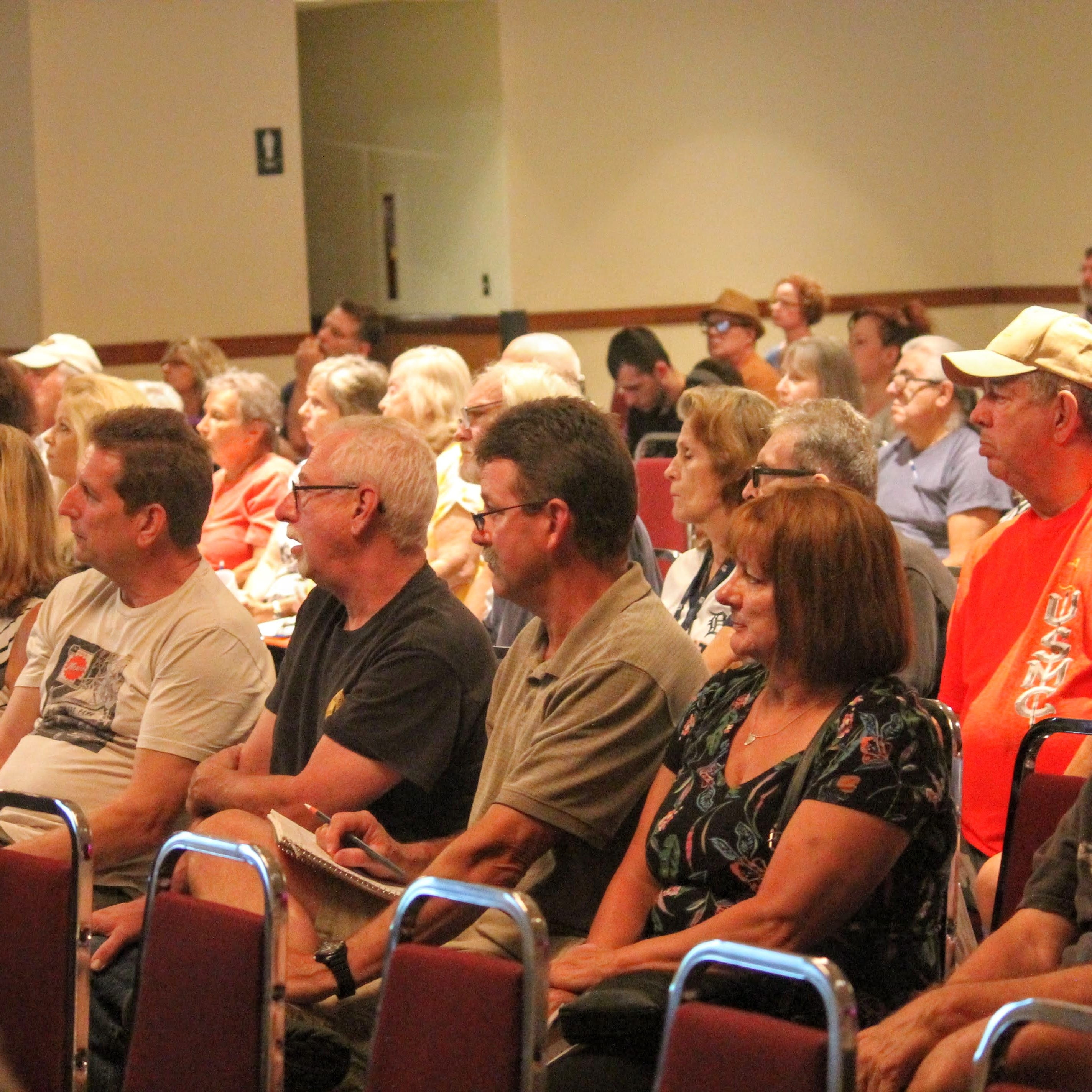 Angry residents pack DEQ meeting over Ford Transmission Plant pollution in Livonia
