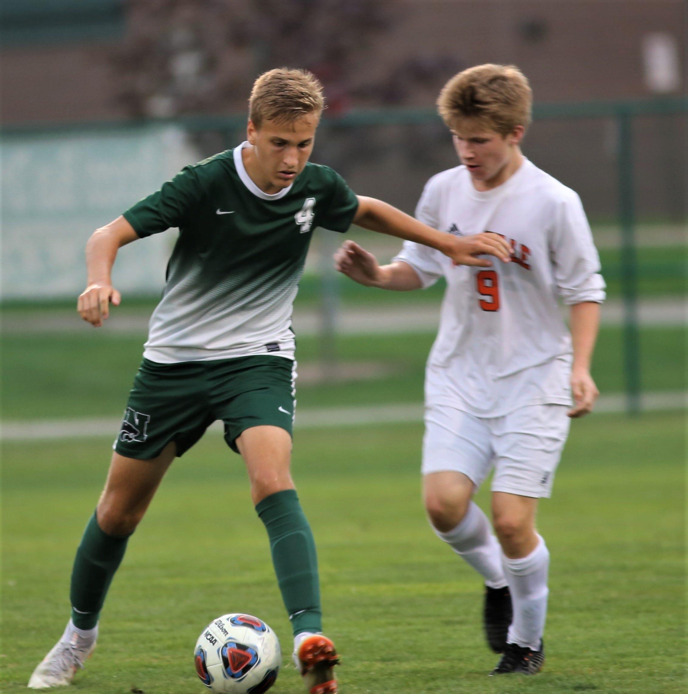 Novi-Northvile KLAA West boys soccer clash ends in scoreless draw