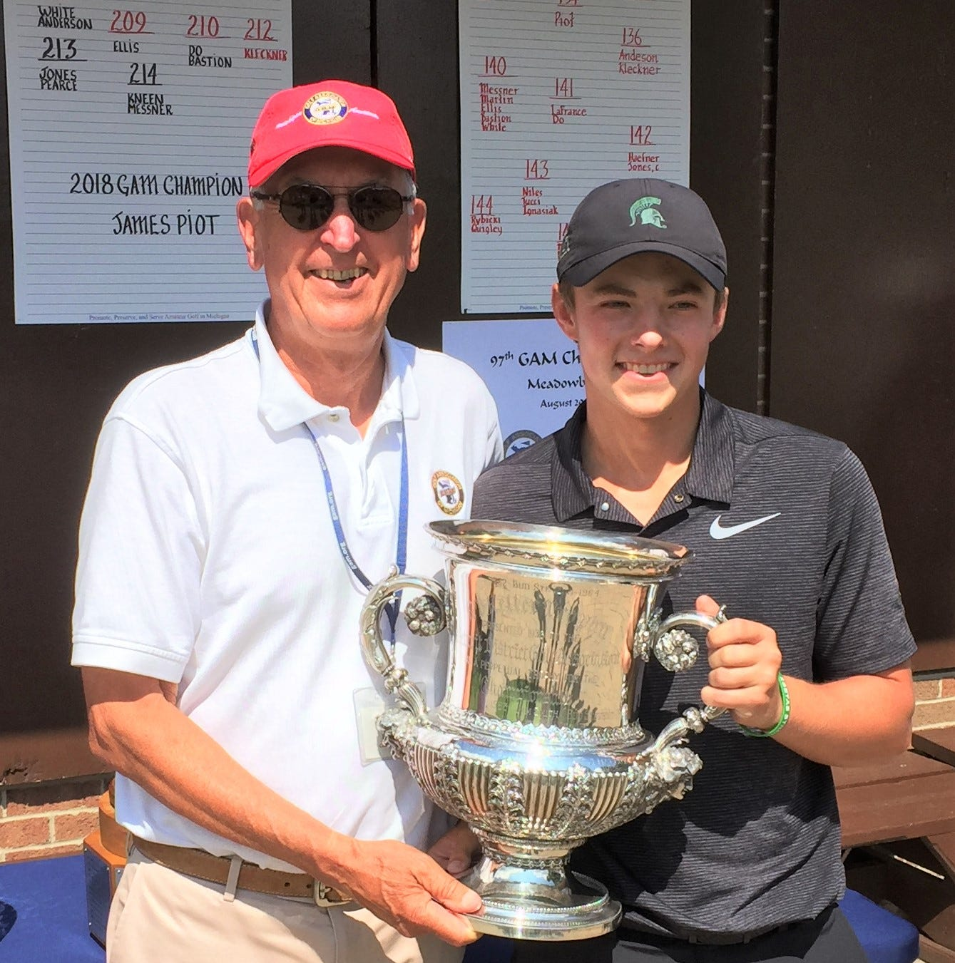 CC grad Piot rules Golf Association of Michigan tourney at Meadowbrook