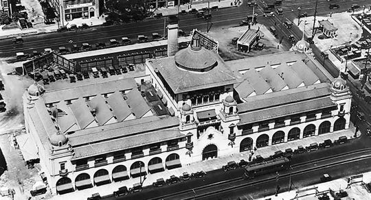 The Herald Examiner building, designed by architect Julia Morgan, was built in 1914. Morgan went on to design Hearst Castle. The historic site will be renovated to house Arizona State University programs.