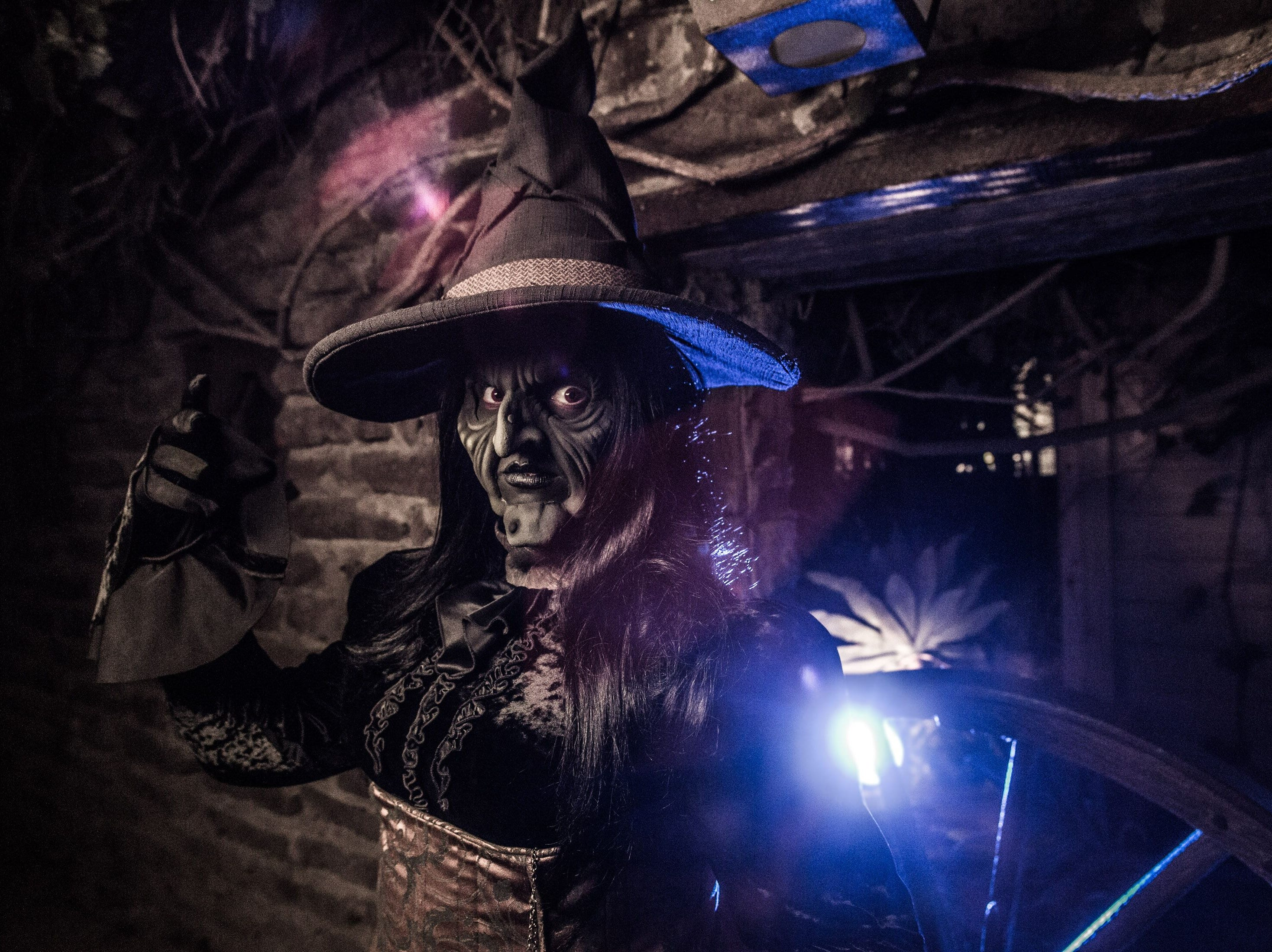 There are no good witches at Knott's Scary Farm,