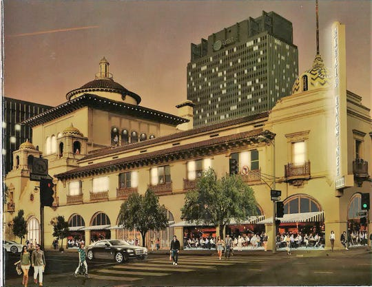 Arizona State University plans to open a renovated Herald Examiner building in downtown Los Angeles in 2020.