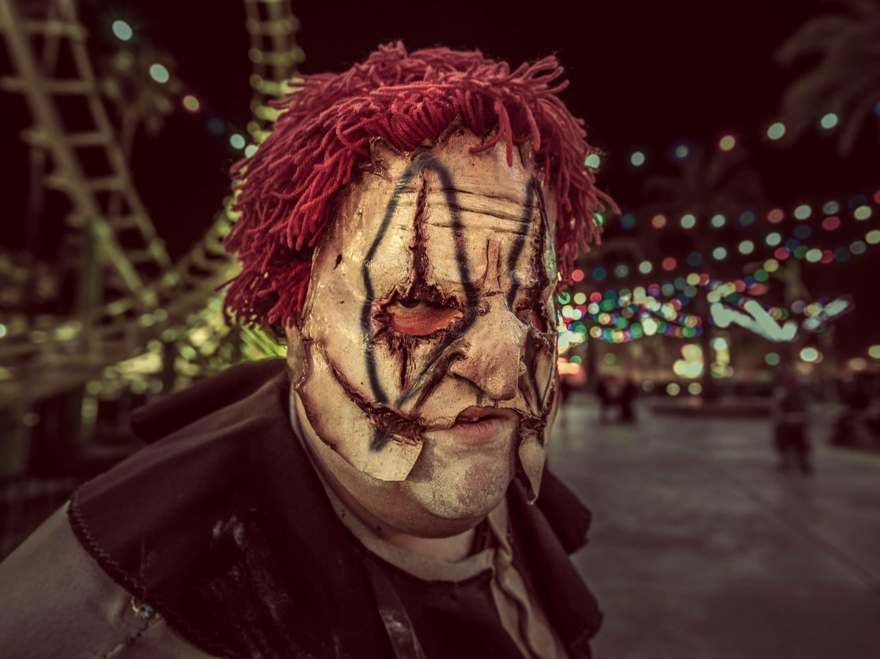 No clowning around at Knott's Scary Farm.