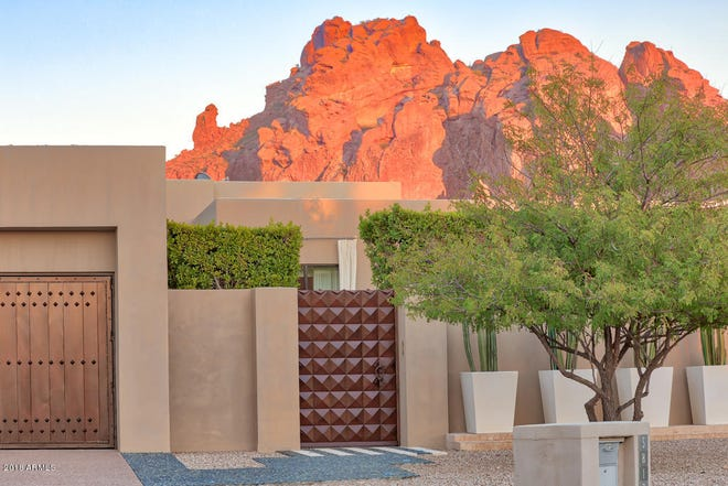 This Phoenix home with views of Praying Monk and Camelback Mountain was among the priciest home sales in metro Phoenix this week.