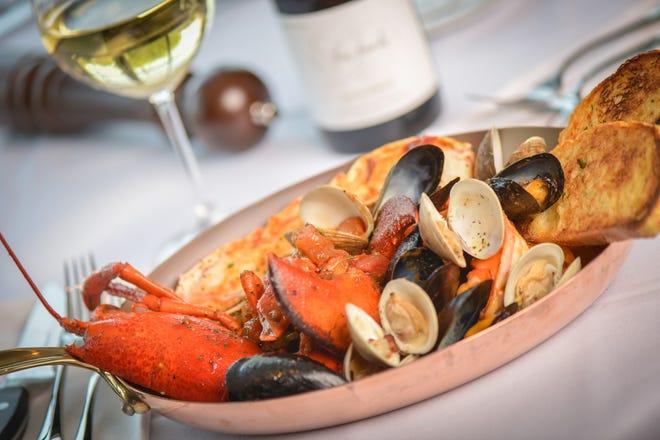 New England lobster bake at Ocean 44 in Scottsdale.
