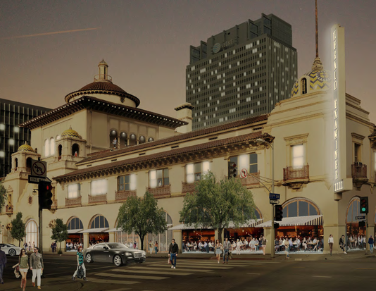 Hex Proposed Exterior Rendering
