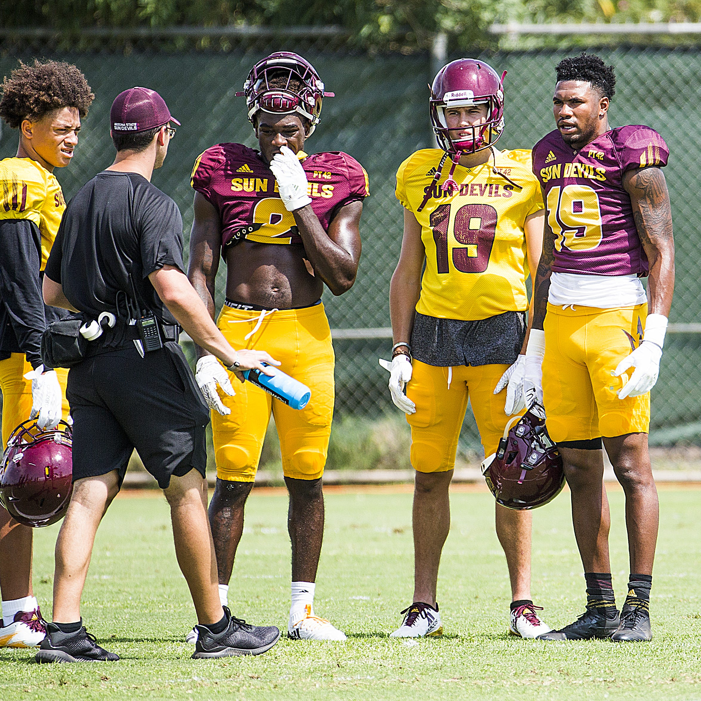 ASU practice report for Tuesday: Depth chart takes shape