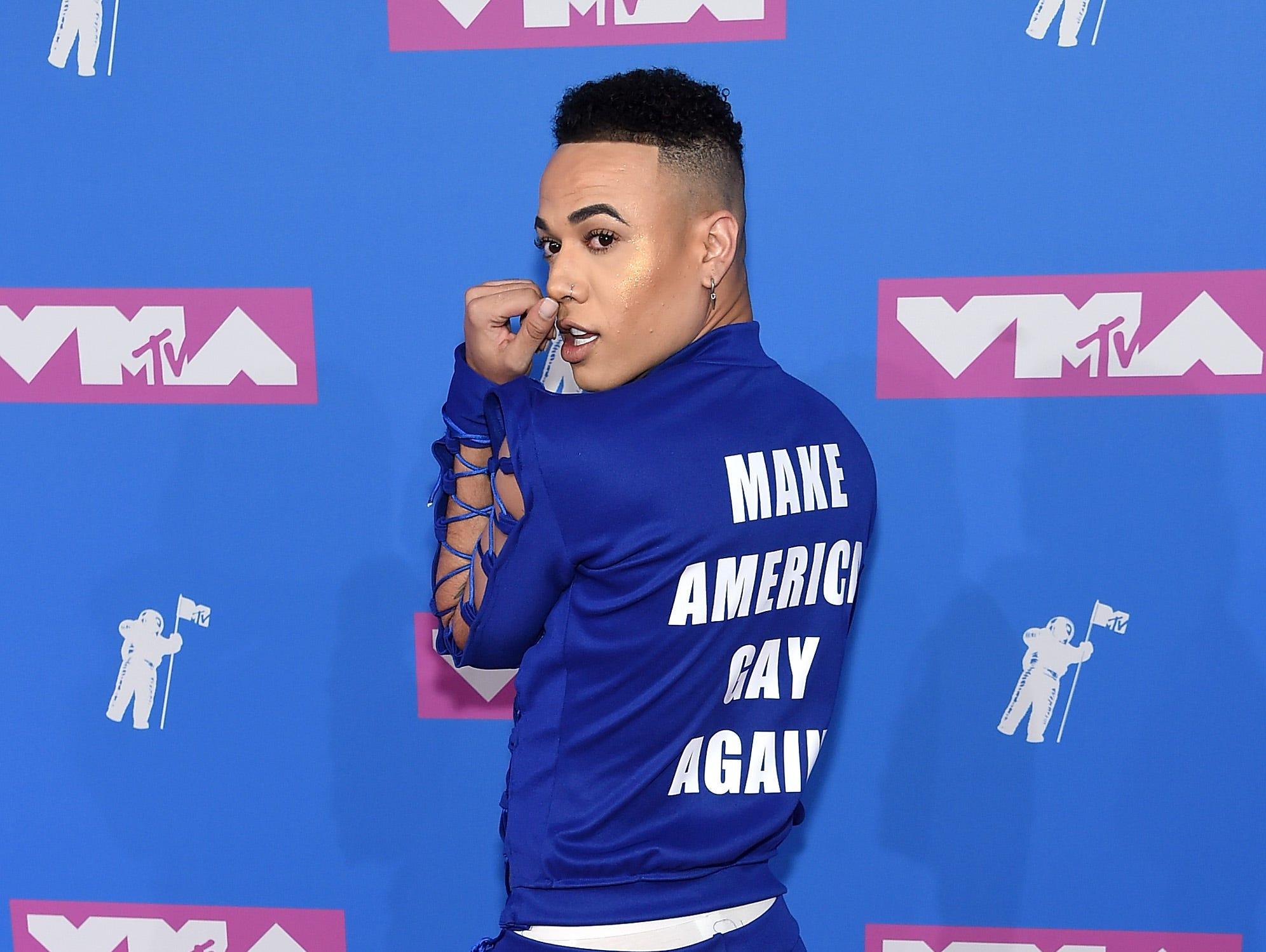 Bobby Lytes asiste a los MTV Video Music Awards 2018 en el Radio City Music Hall el 20 de agosto de 2018 en la ciudad de Nueva York.
