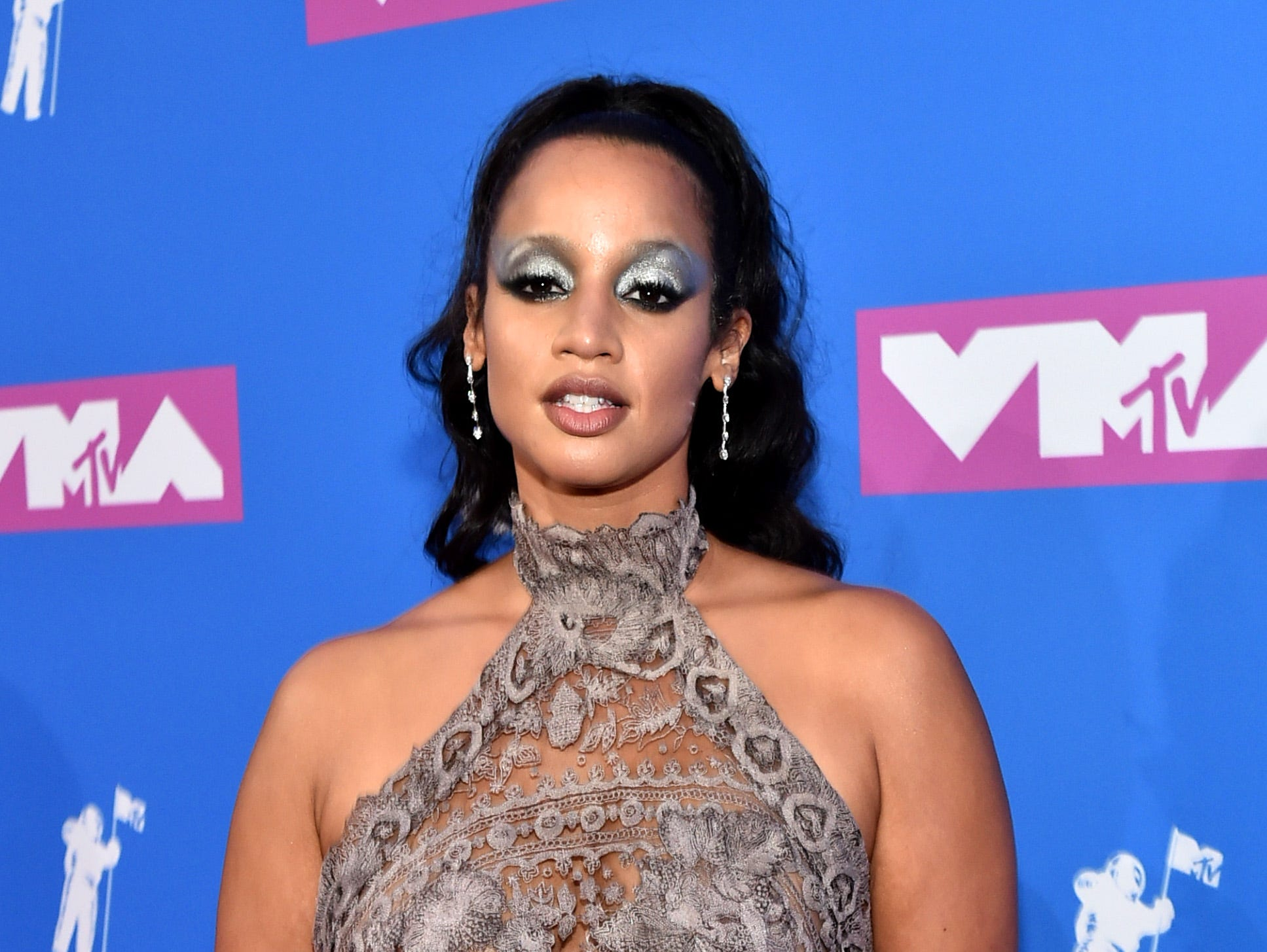 Dascha Polanco asiste a los MTV Video Music Awards 2018 en el Radio City Music Hall el 20 de agosto de 2018 en la ciudad de Nueva York.