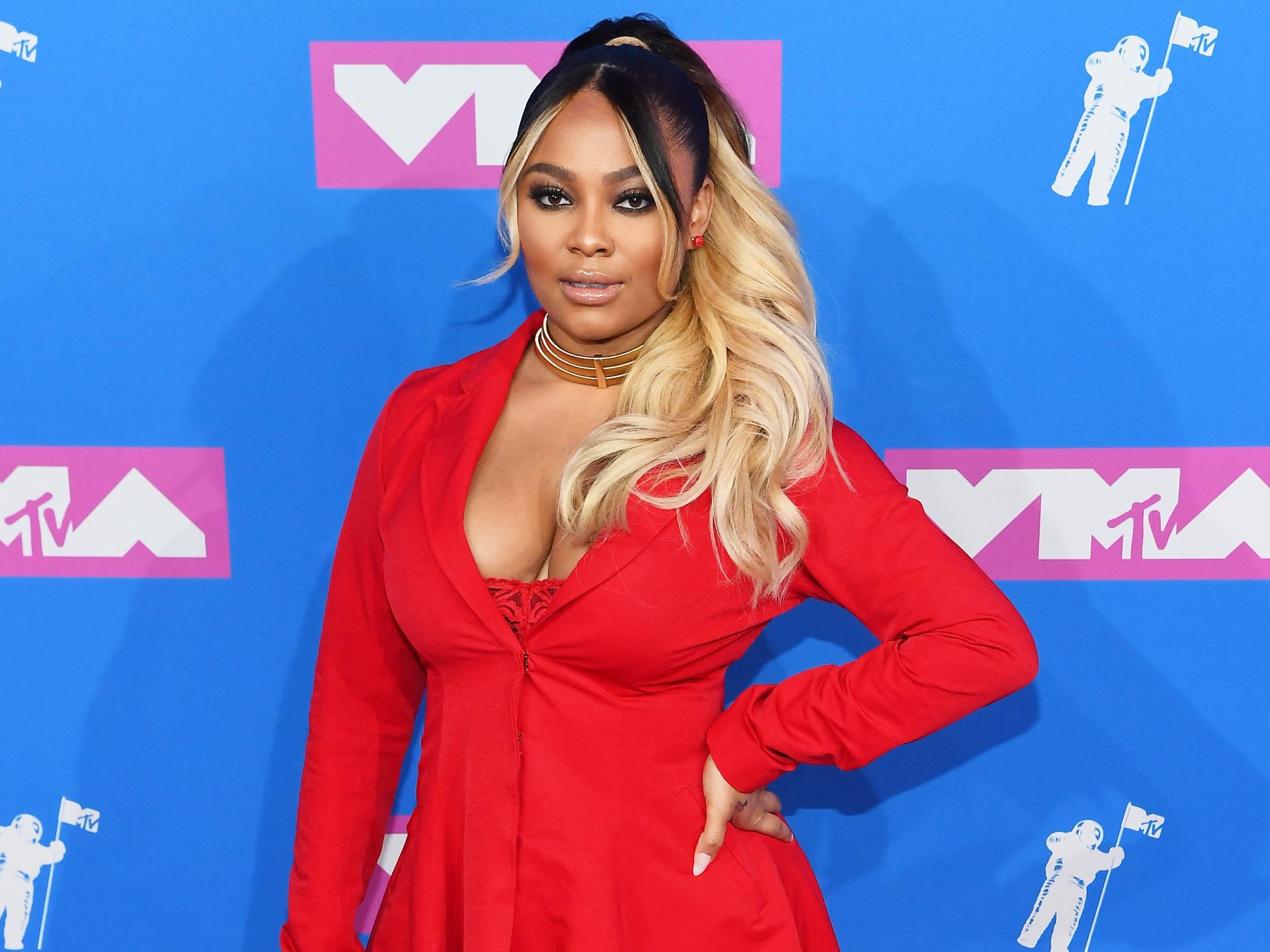 Teairra Mari asiste a los MTV Video Music Awards 2018 en el Radio City Music Hall el 20 de agosto de 2018 en la ciudad de Nueva York.