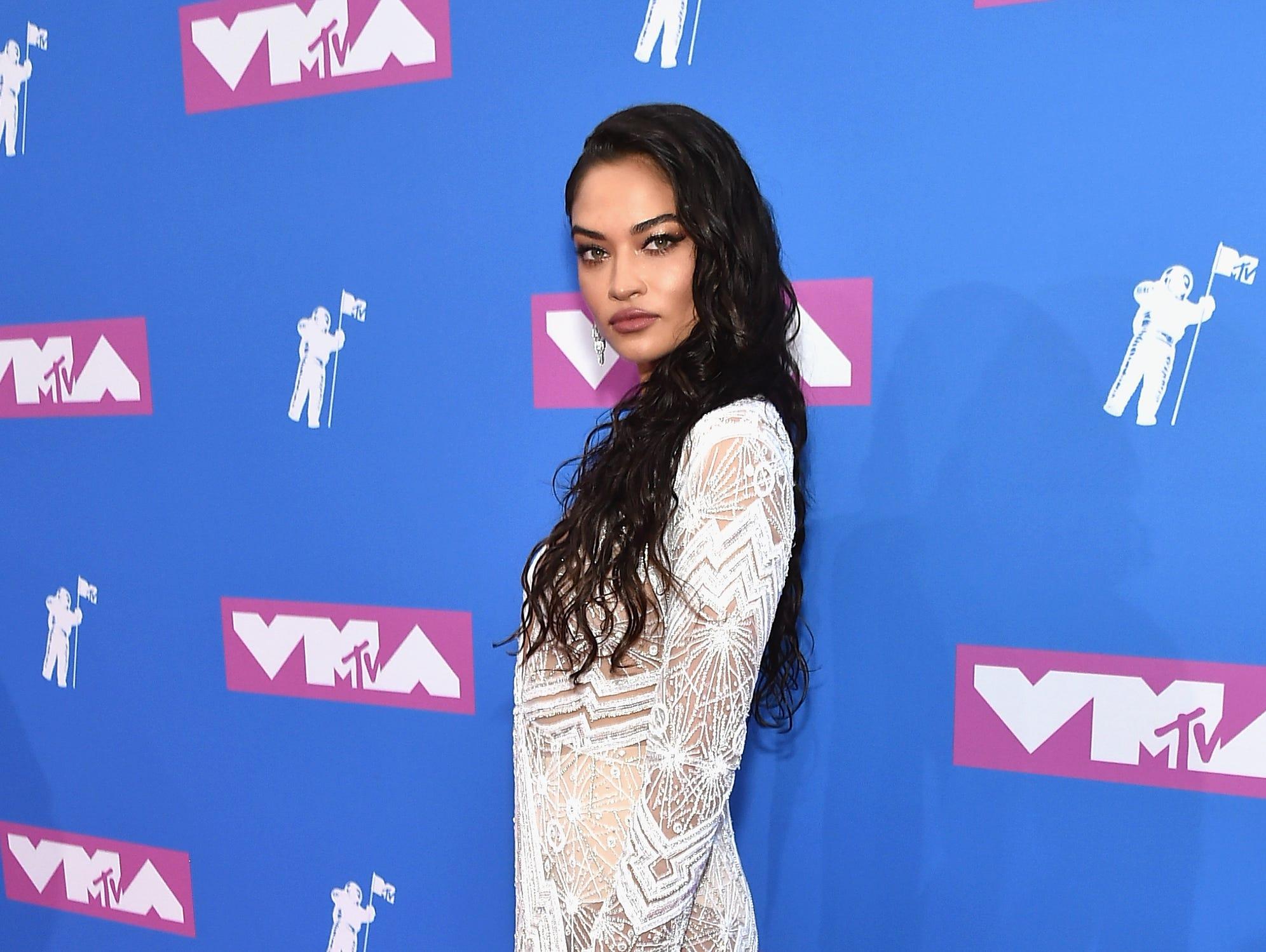 Shanina Shaik asiste a los MTV Video Music Awards 2018 en el Radio City Music Hall el 20 de agosto de 2018 en la ciudad de Nueva York.