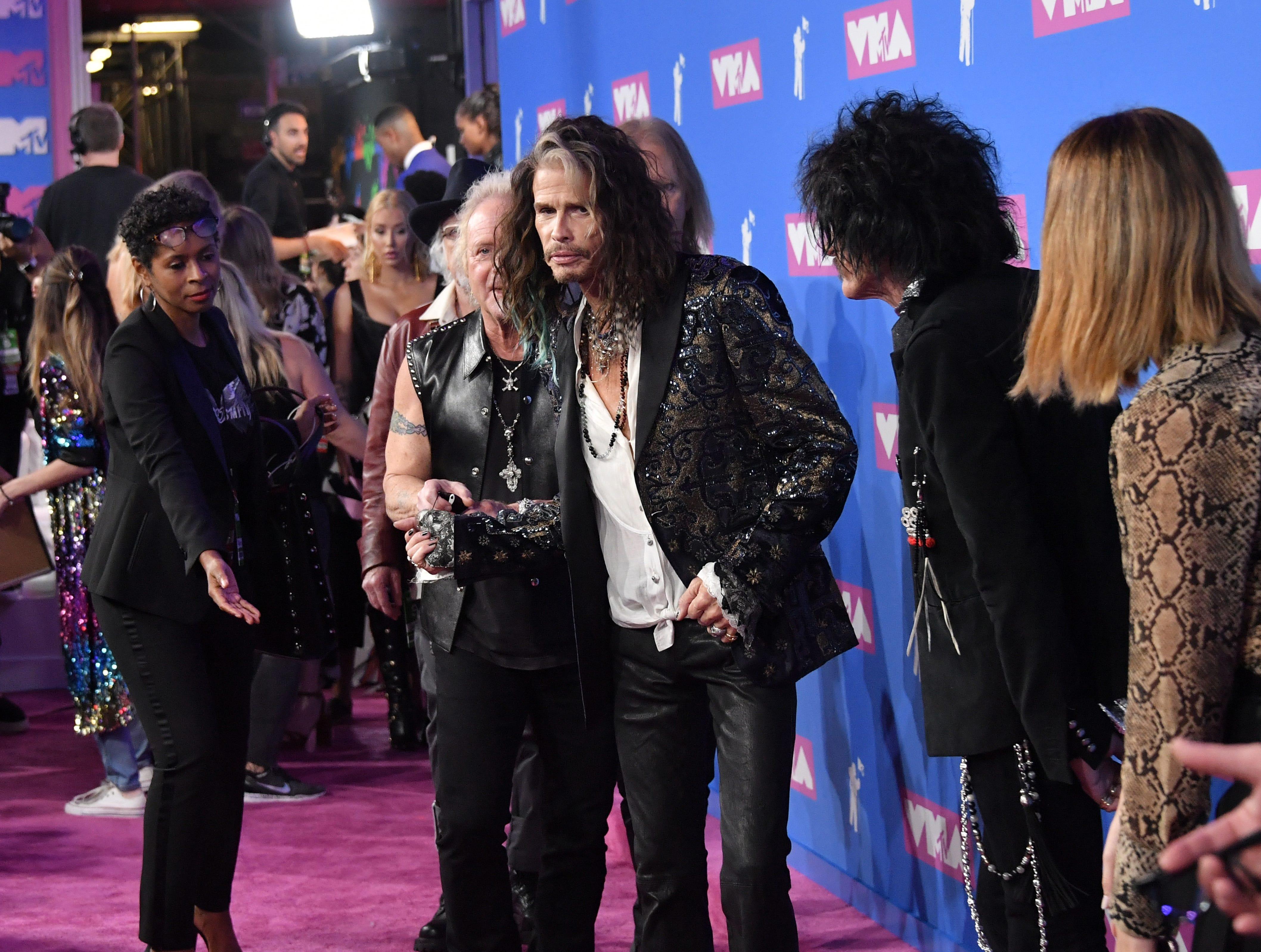 Steven Tyler asiste a los MTV Video Music Awards 2018 en el Radio City Music Hall el 20 de agosto de 2018 en la ciudad de Nueva York.
