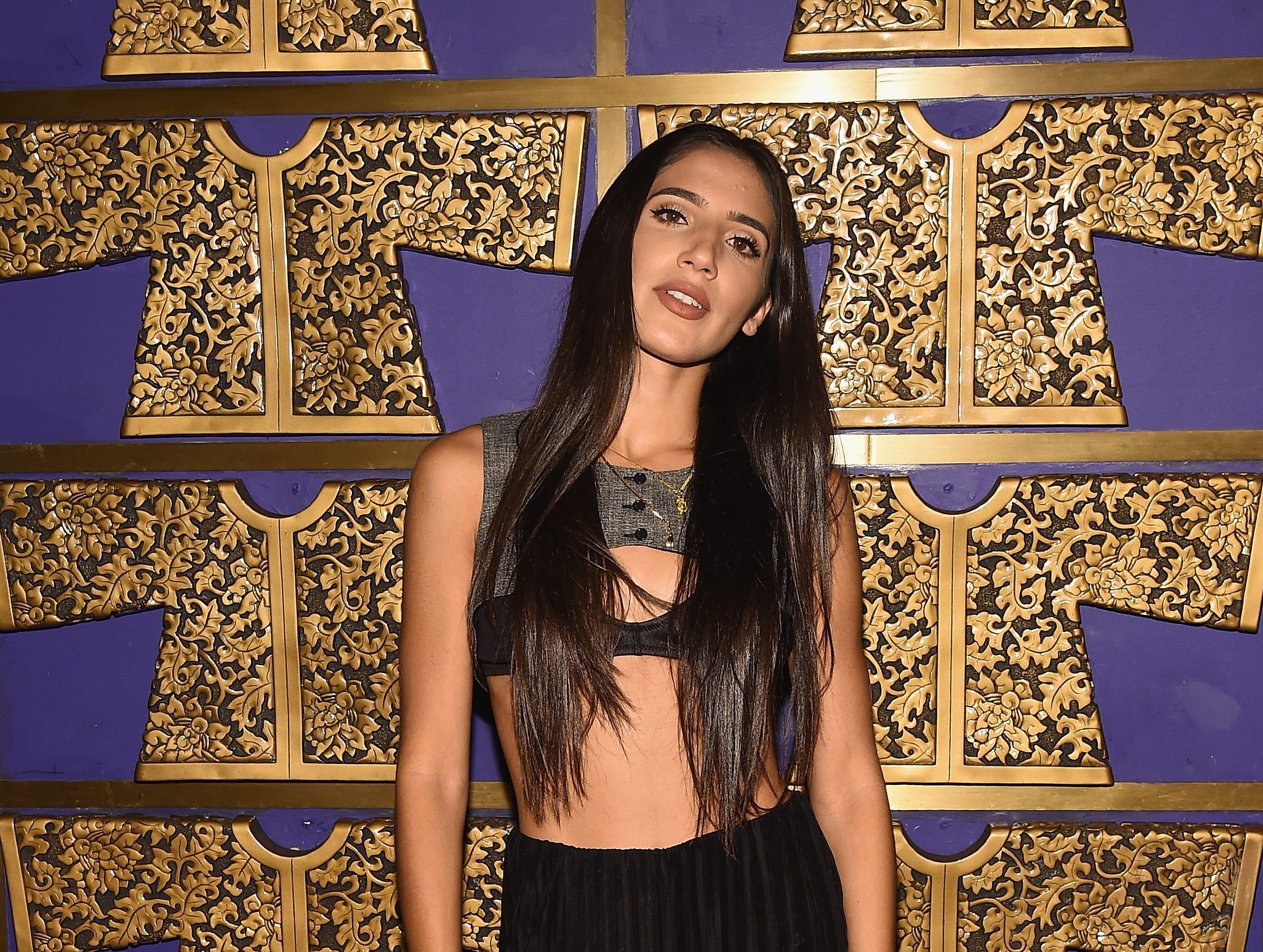 ABIR asiste a la celebración de Atlantic Records por los VMA de 2018 el 20 de agosto de 2018 en TAO Downtown en la ciudad de Nueva York.