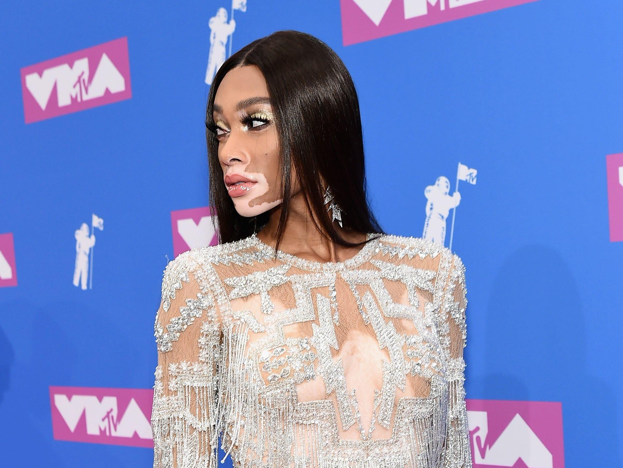 Winnie Harlow asiste a los MTV Video Music Awards 2018 en el Radio City Music Hall el 20 de agosto de 2018 en la ciudad de Nueva York.