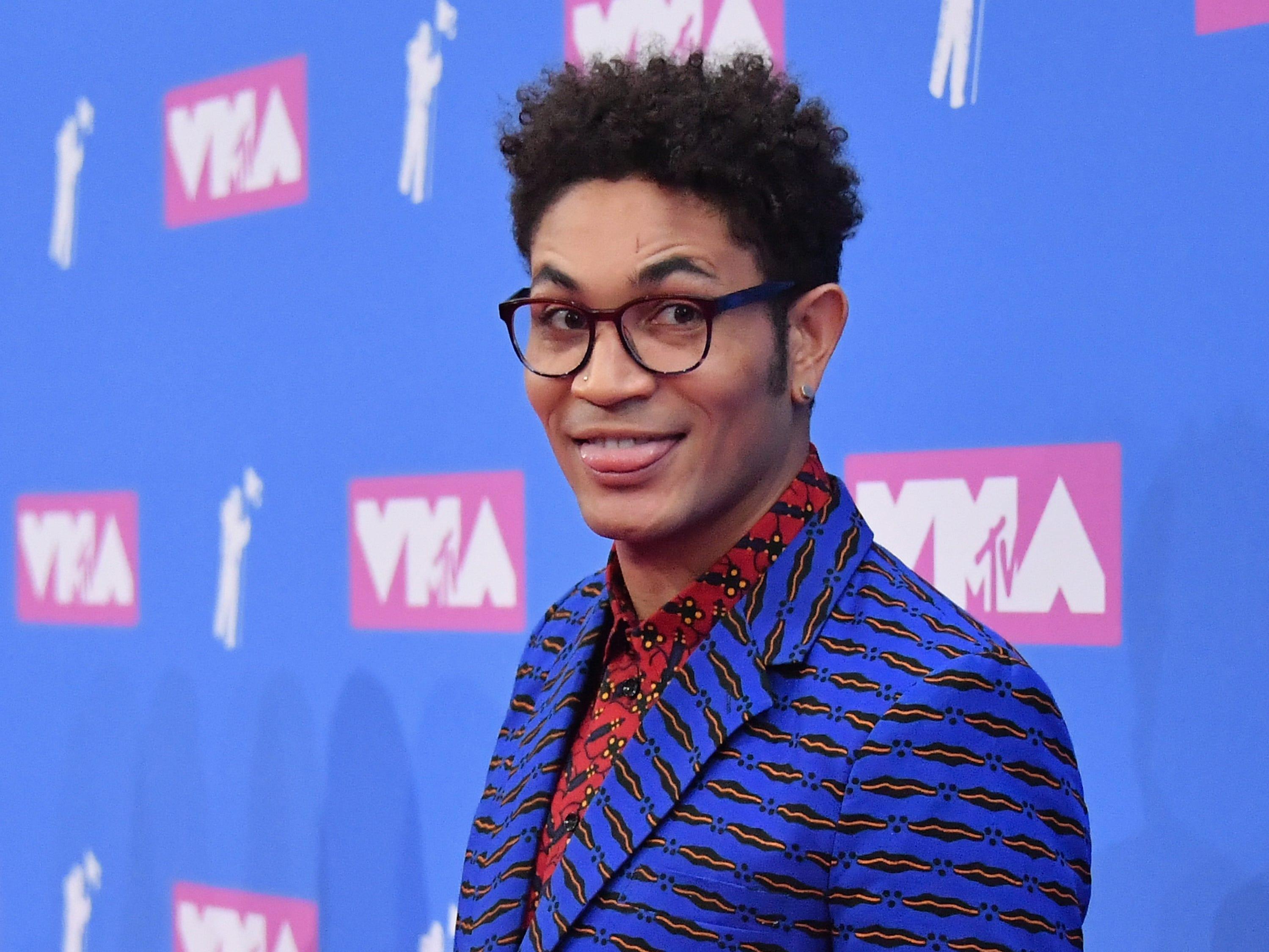 Bryce Vine asiste a los MTV Video Music Awards 2018 en el Radio City Music Hall el 20 de agosto de 2018 en la ciudad de Nueva York.