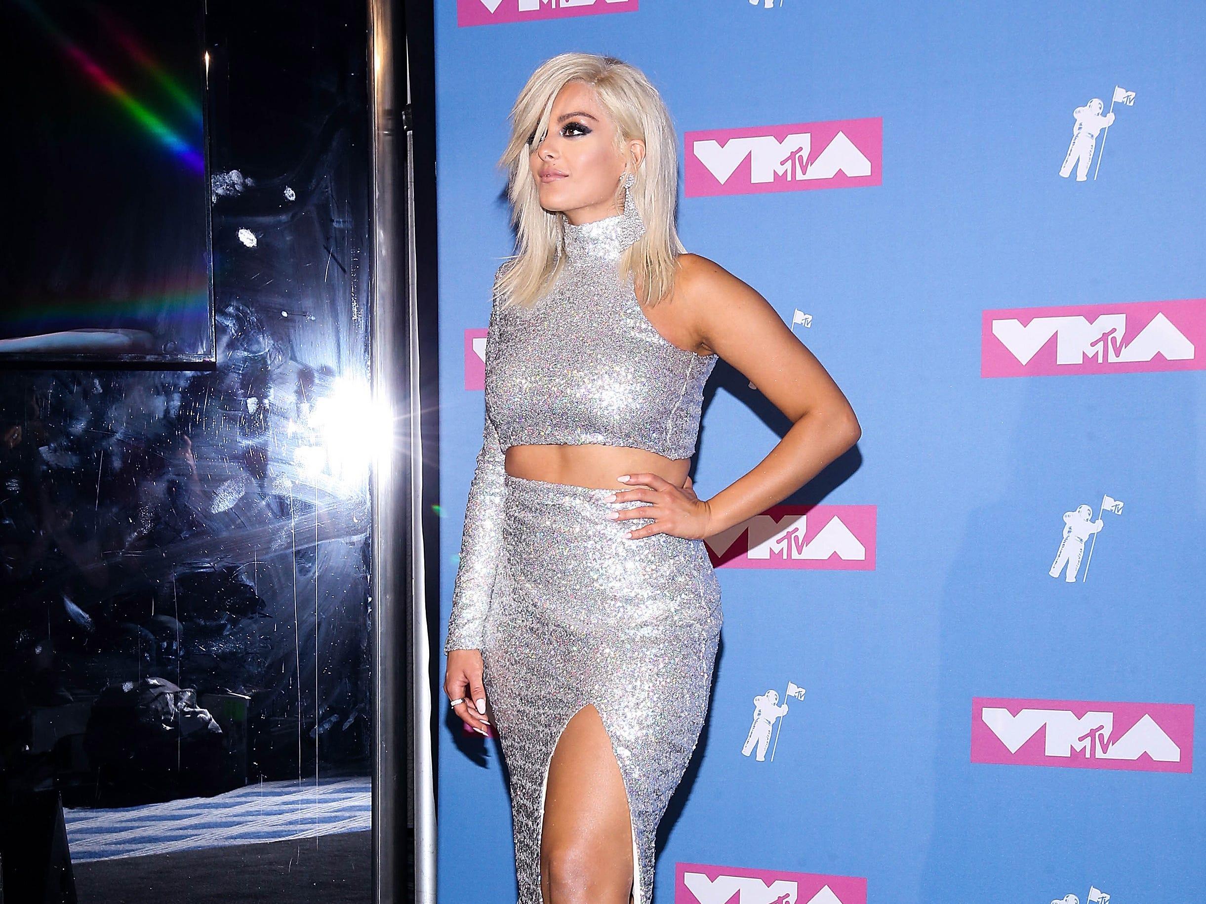 Bebe Rexha asiste a los MTV Video Music Awards 2018 en el Radio City Music Hall el 20 de agosto de 2018 en la ciudad de Nueva York.