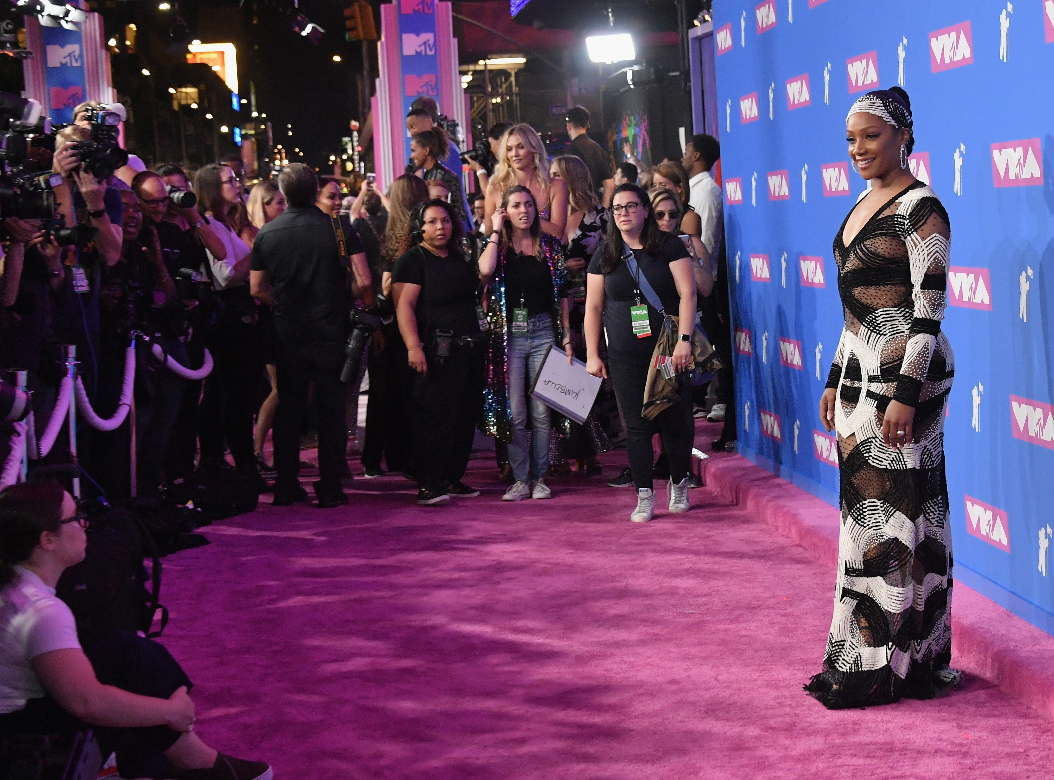 Tiffany Haddish asiste a los MTV Video Music Awards 2018 en el Radio City Music Hall el 20 de agosto de 2018 en la ciudad de Nueva York.