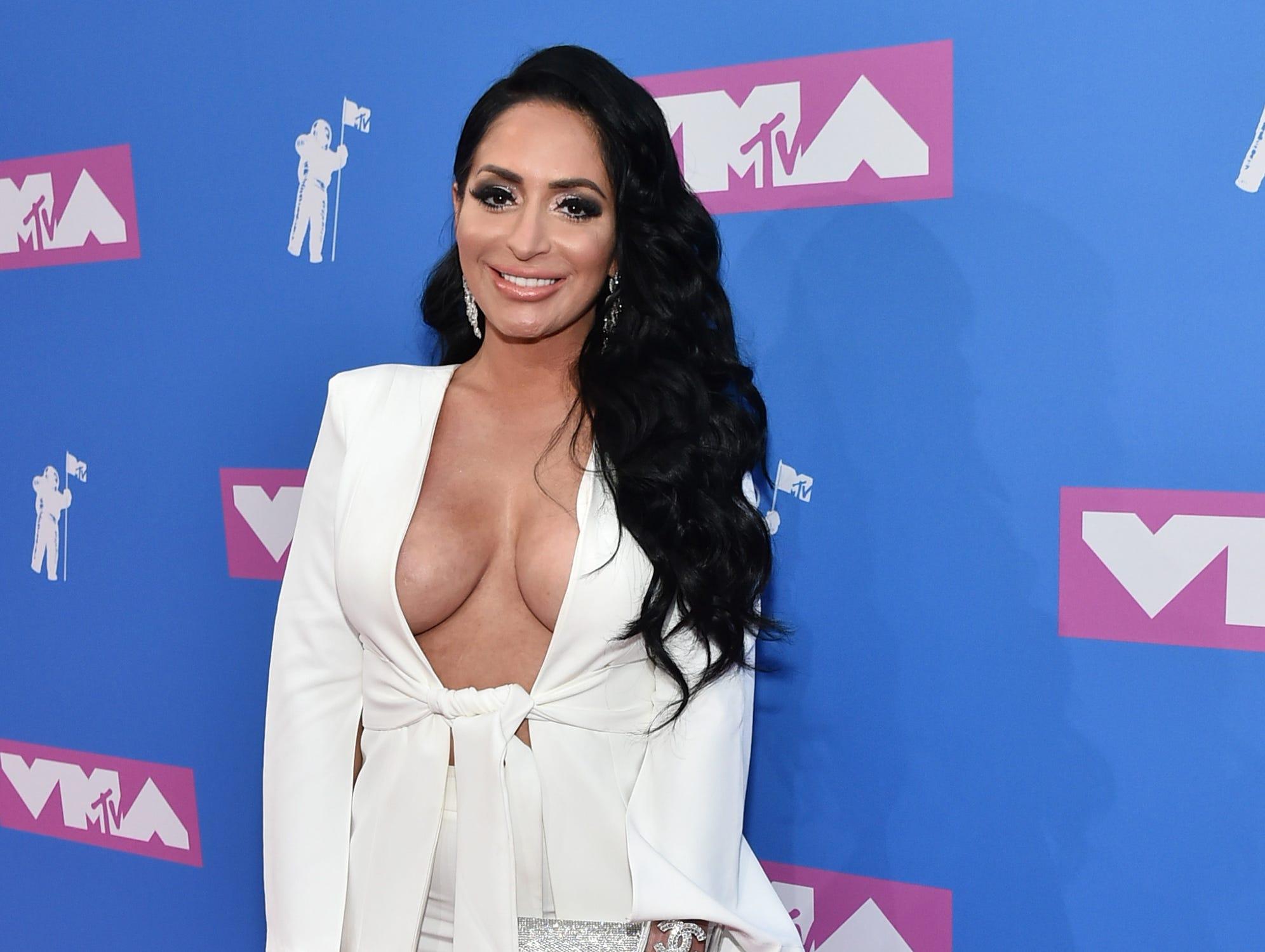 Angelina Pivarnick asiste a los MTV Video Music Awards 2018 en el Radio City Music Hall el 20 de agosto de 2018 en la ciudad de Nueva York.