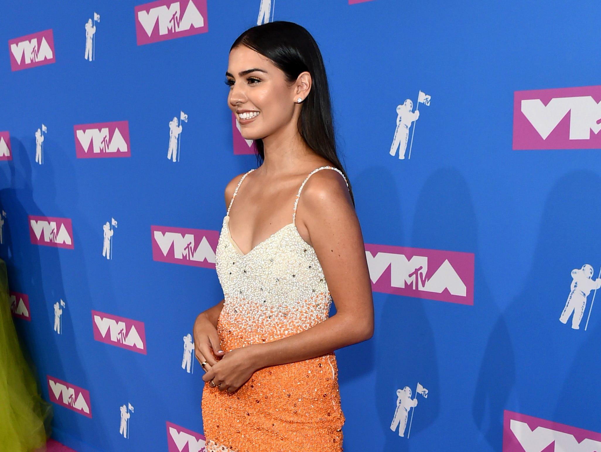 Jessica Andrea  asiste a los MTV Video Music Awards 2018 en el Radio City Music Hall el 20 de agosto de 2018 en la ciudad de Nueva York.
