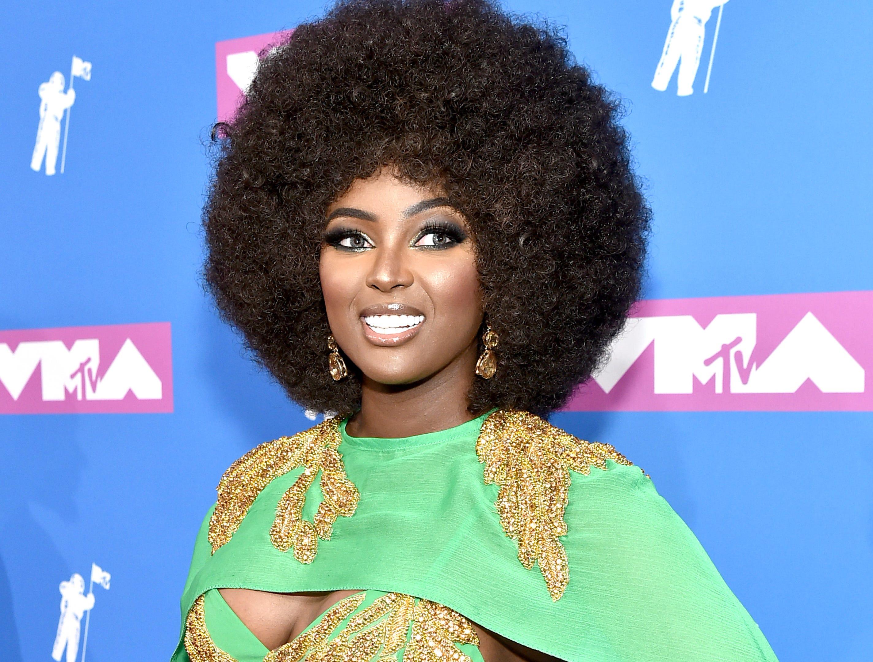 Amara La Negra asiste a los MTV Video Music Awards 2018 en el Radio City Music Hall el 20 de agosto de 2018 en la ciudad de Nueva York.