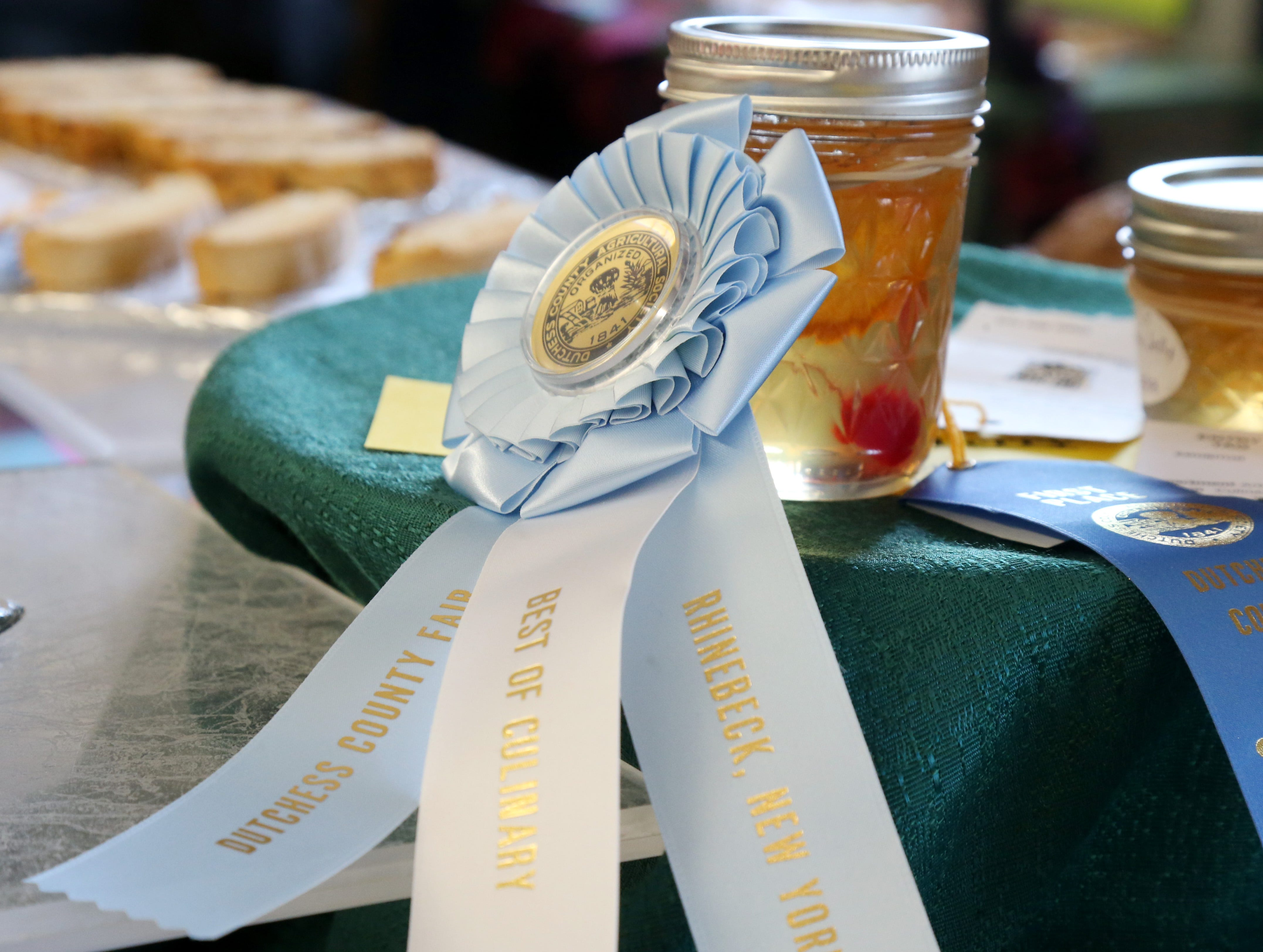 A whiskey sour jelly made by Terry Sennett won the best of culinary at the Dutchess County Fair in Rhinebeck on August 21 2018.