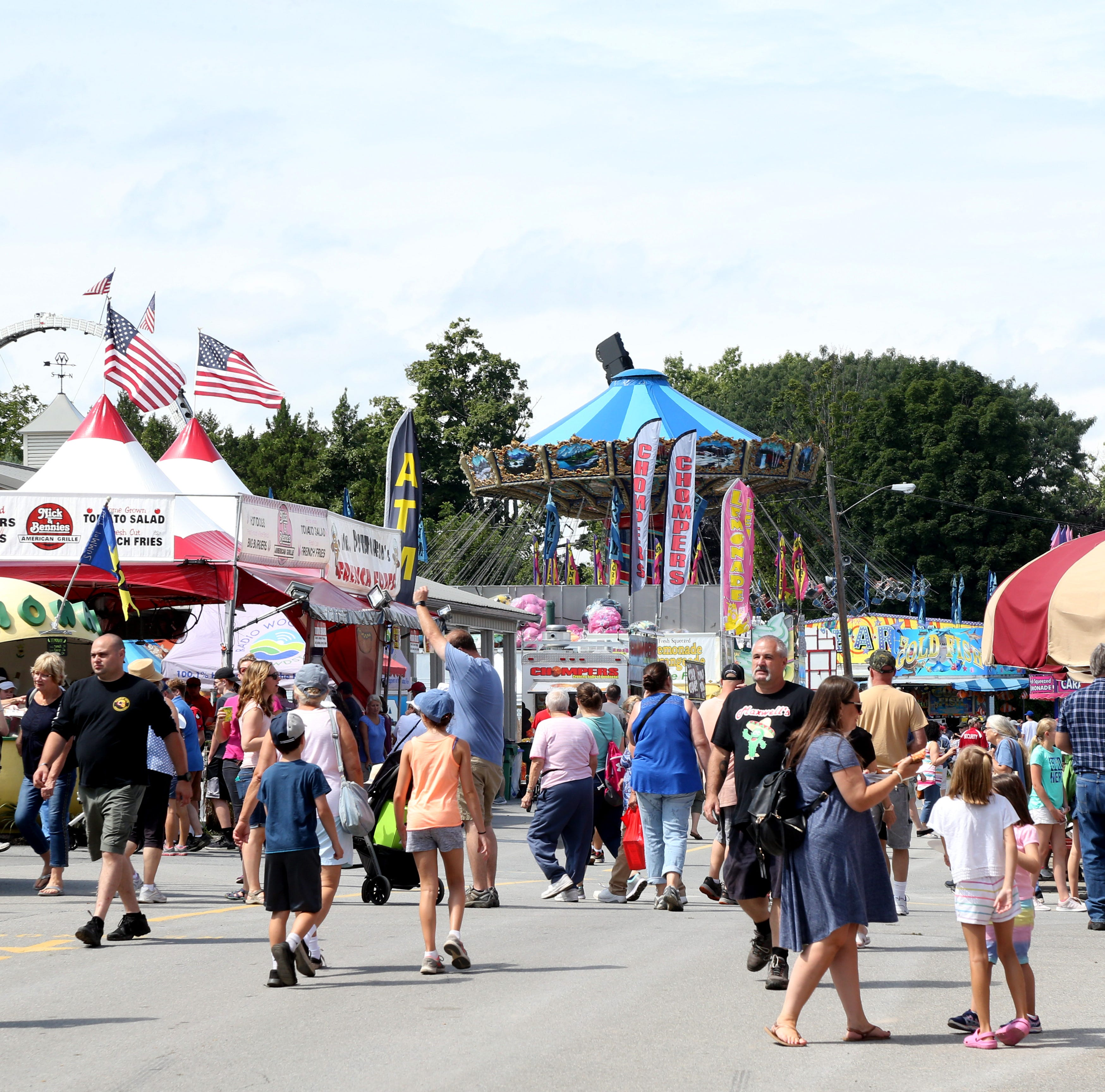 Photos: Opening Day at the 2018 Dutchess County Fair