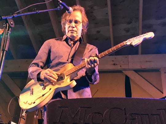 Jackson Browne performs with the Midnight Ramble Band at the Dirt Farmer Festival held Aug. 19 at Arrowood Farms in Accord