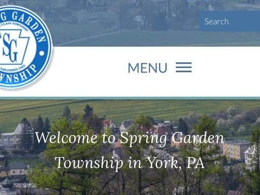 Spring Garden Website