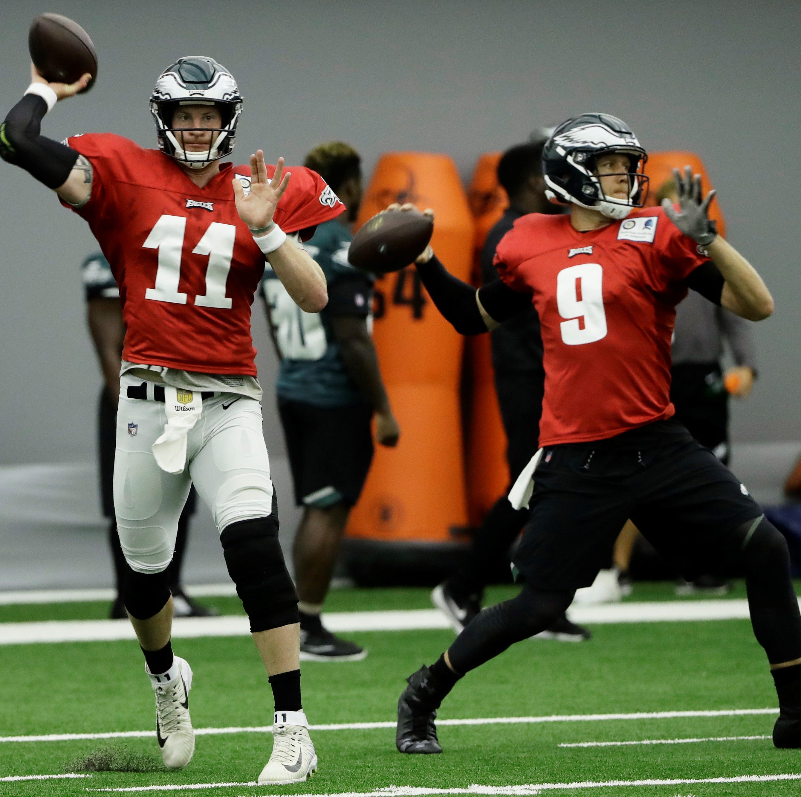 DOMOWITCH: Carson Wentz wants to play opener, but will rushing back jeopardize his career?