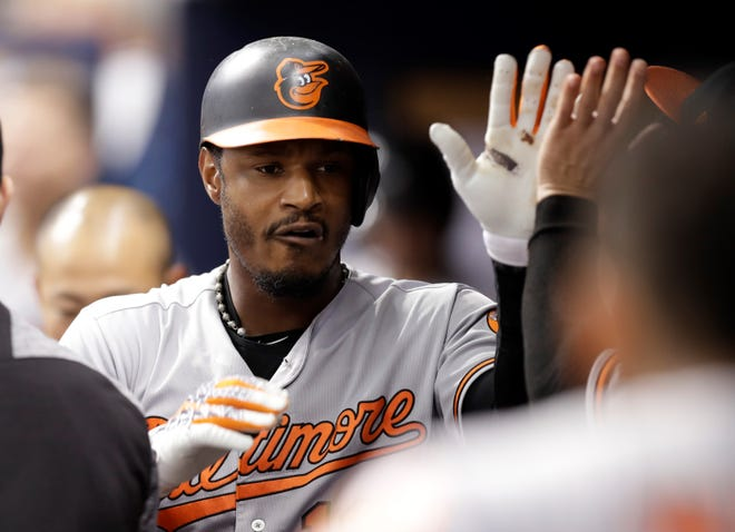 Adam Jones has become a baseball institution with the Baltimore Orioles. AP FILE PHOTO