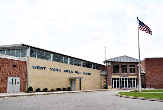 West York Area High School in West Manchester Township, Tuesday, Aug. 21, 2018. Dawn J. Sagert