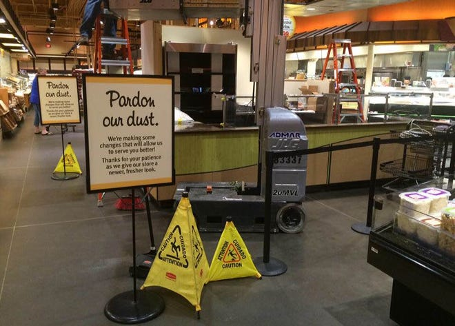 The East Avenue Wegmans is adding a made-to-order salad station to its Market Cafe.