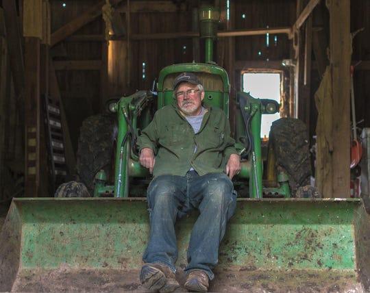 Nathan Ruekberg and wife Hannah raise sheep and crops.